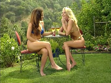 Summer affair with a stunning blonde who craves a soaking pussy